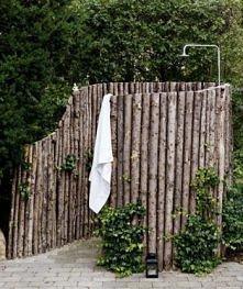 ogrodowy prysznic
