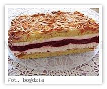 MALINOWA EKSTAZA :) Ciasto: 7 żółtek 10 dag cukru 1 łyżeczka proszku do piecz...