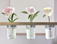 pomysł na wazonik dla kwiatków