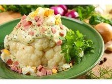 Kalafior z sosem beszamelowym