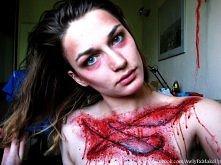 Sewn Mouth na Awly FX Make-up :) na Moje charakteryzacje