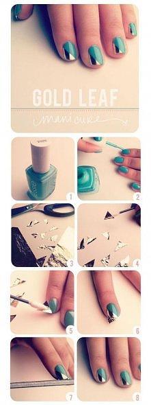 metalic nails