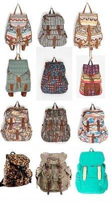 plecaki vintage