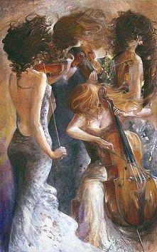 Art painting wonderful by Lena Sotskova