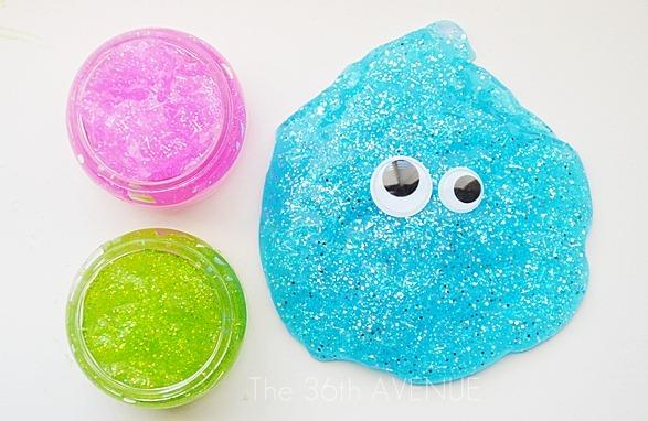 how to make fairy dust cloud slime