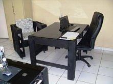 Biurko i krzesło z palet ( zdjęcie 3 ) Co można zrobić z palet? Wbijajcie po więcej pomysłów <3