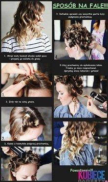 Pokazujemy jak najłatwiej zrobić fale na włosach