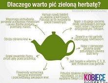 zielona herbata na zdrowie :)