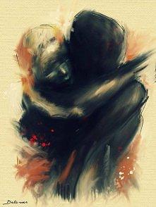 """Don't leave"" By Delawer Art"