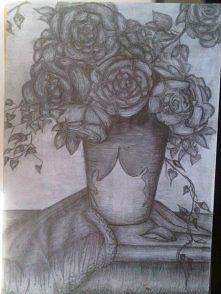 Oto jeden z moich rysunków....