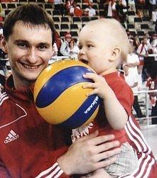 Papcio ze swym synem Rafałem :)