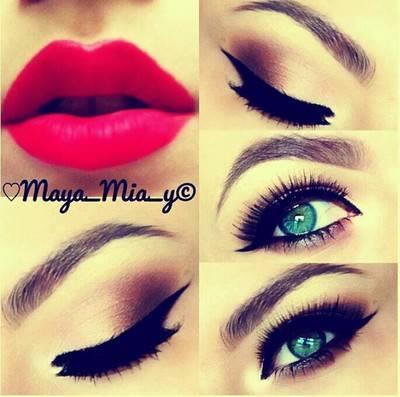Mocny Makijaż Dla Niebieskich Oczu Na Make Up Zszywkapl