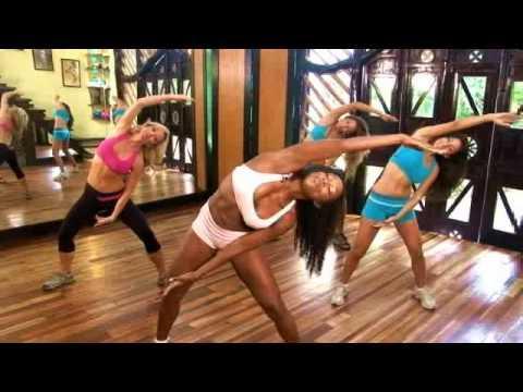 Tiffany Rothe - 10 minutowy trening na boczki