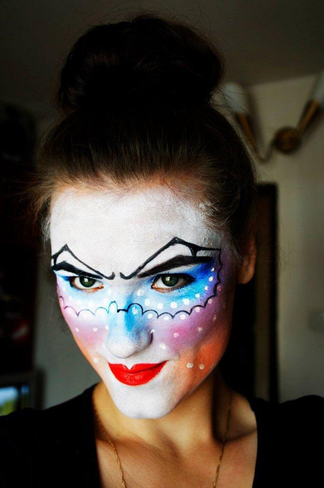 Makijaż Artystyczny Na Wizaż Zszywkapl