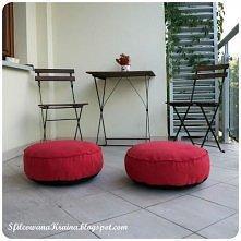 poduszki na podłogę/ na balkon