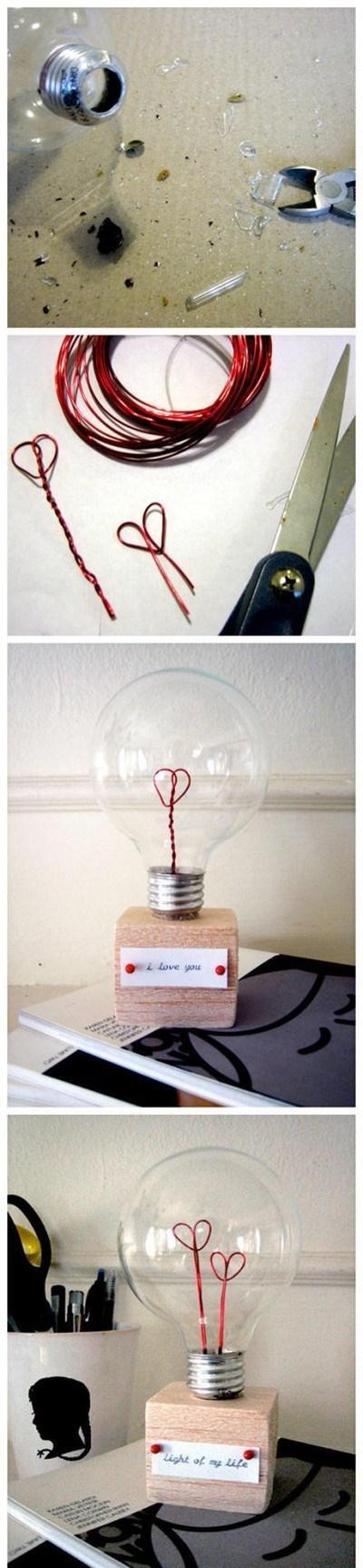 Super pomysł na ozdobę do pokoju :)