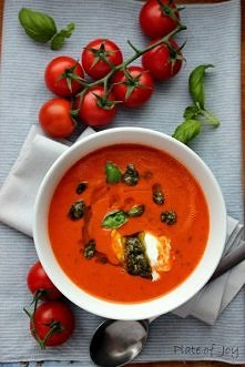 zupa-krem pomidorro