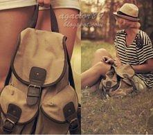 plecak vintage :>
