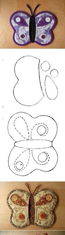 diy, butterfly, pot, holder