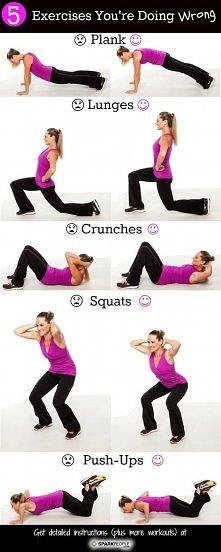 Ważne podczas ćwiczeń :3