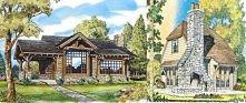 Małe słodkie domki z amerykańskich katalogów - zafunduj sobie mały słodki dom...