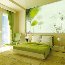 Zielona sypialnia :)
