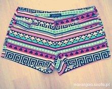 Spodenki w azteckie wzory ♥