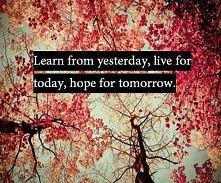 learn, live, hope.