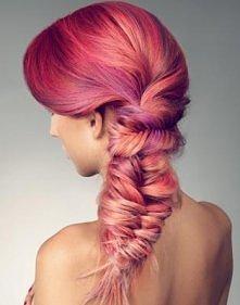 piękny kolor włosów