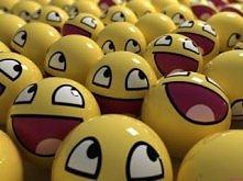 smiley faces :D