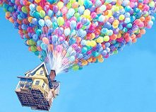 baloons&house