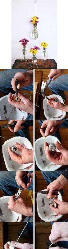flakonik z żarówki