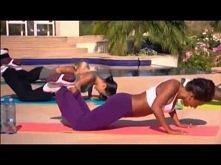 Mel B Trening na biust klatke piersiowa i plecy