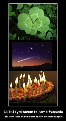 A czy wam się kiedys speniło życzenie wypowiedziane do 4-listnej koniczyny ? :)
