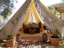 taki tam namiot w ogródku :D