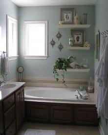 półki ozdobne w łazience