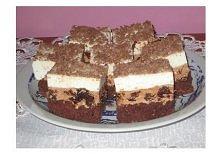 Ciasto z nutellą i śliwką(ja robie bez śliwki:)  1 kostka Kasia 4 jajka 3/4 szklanki cukru 1/4 szkl mąki ziemniaczanej 1/2 szkl mąki pszennej 3 łyżki kakao 1 łyżeczka proszku do...