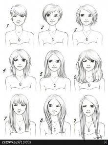 A wy jaką długość włosów ma...