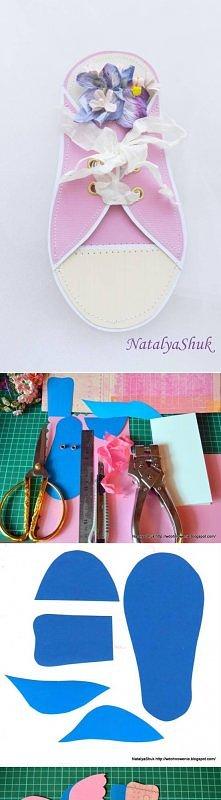 diy, paper, sneaker, card, invitation