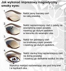 imprezowy smokey eye :)