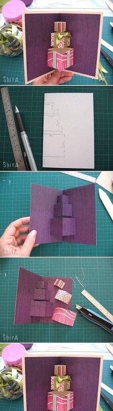 Kartka z prezentami 3d