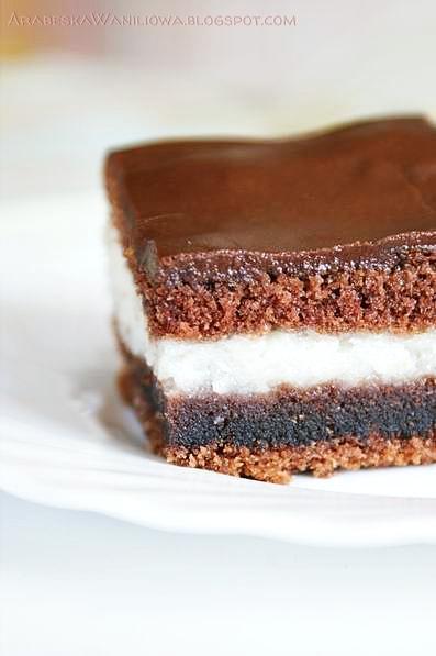 """""""Kokosowe ciasto z kaszą manną  Składniki: 4 łyżki kaszy manny 100 g wió..."""