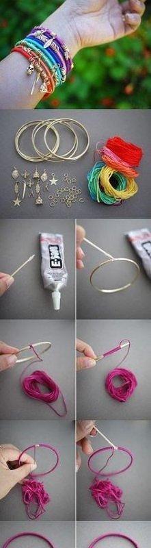 Jak zrobić bransoletkę ?- j...
