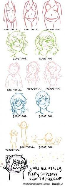 ZAPAMIĘTAJ TO SOBIE! Jesteś piękna taka jaka jesteś!
