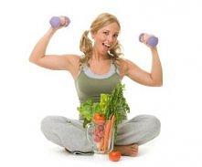 Zdrowe odżywianie + ćwiczenia = idealna sylwetka