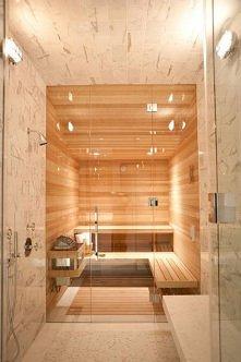 Zobacz domową saunę - wypoc...
