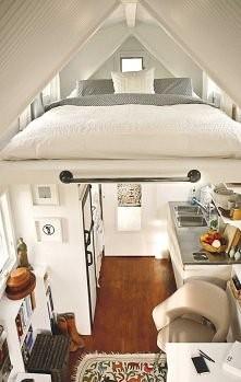 Kilka przykładów na to, jak można zagospodarować przestrzeń pod dachem - czyl...