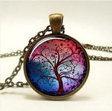 Piękny medalion w kolorze s...