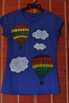 Koszulki ręcznie malowane, ...