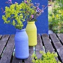 butelkowy pomysł do ogrodu....